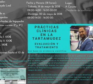1Prácticas Clínicas en la Tartamudez. Gonçalo Leal. 19y20-mayo