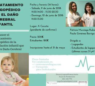 Daño cerebral infantil. Murciego-Barriga 9-10.06